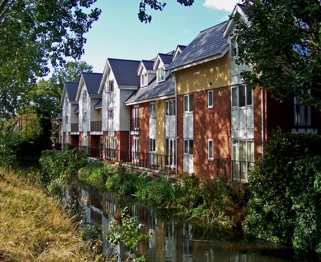 River Freshney near Haven Bridge, Grimsby