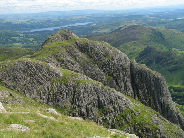 Loft Crag from Pike O'Stickle