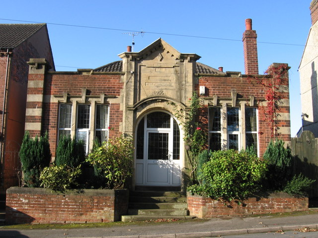 Pleasley - Old Library
