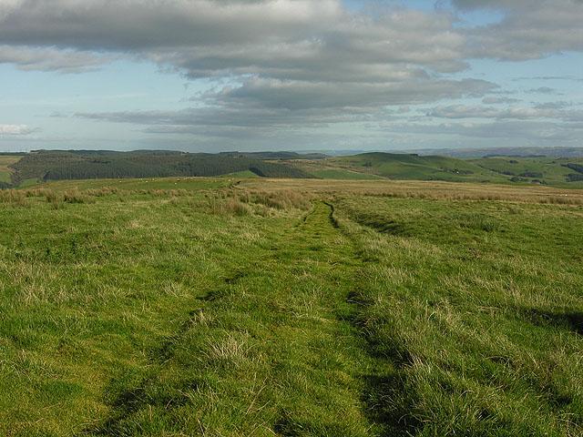 Roman road on Penycrocbren