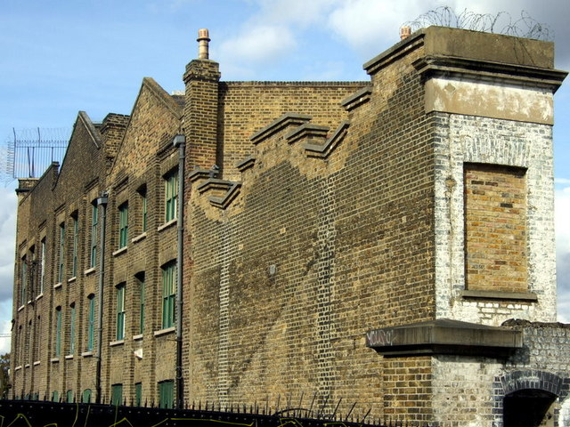 Former canal warehouses, Copperfield Road