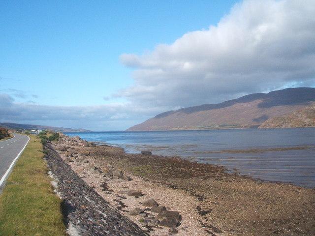 Little Loch Broom, looking west