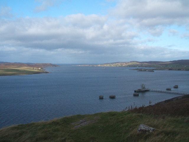 Pier, Loch Ewe,and Isle of Ewe