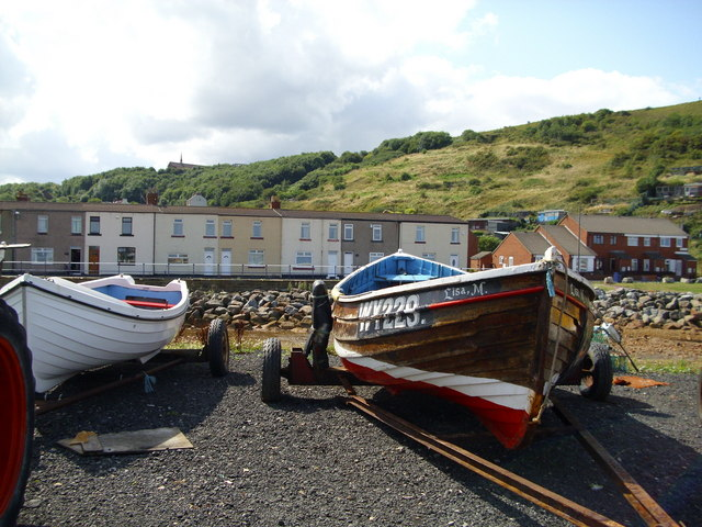 Working boats at rest
