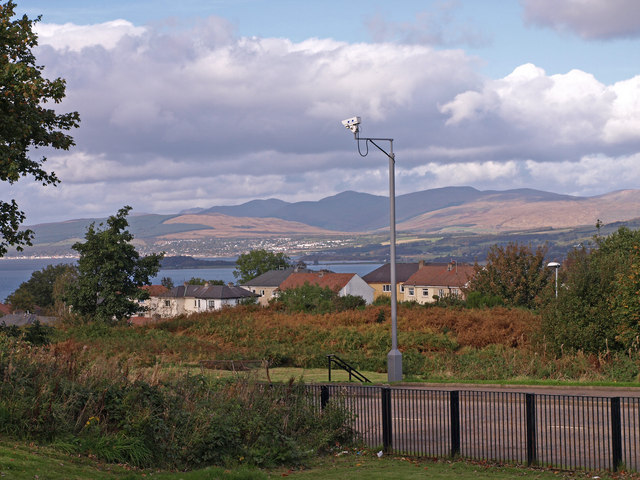 Camera on the Kilmacolm Road