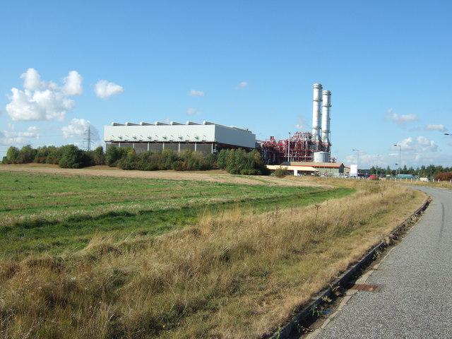 Power station at Sutton Bridge