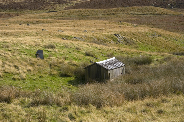Shed on Green Quarter Fell
