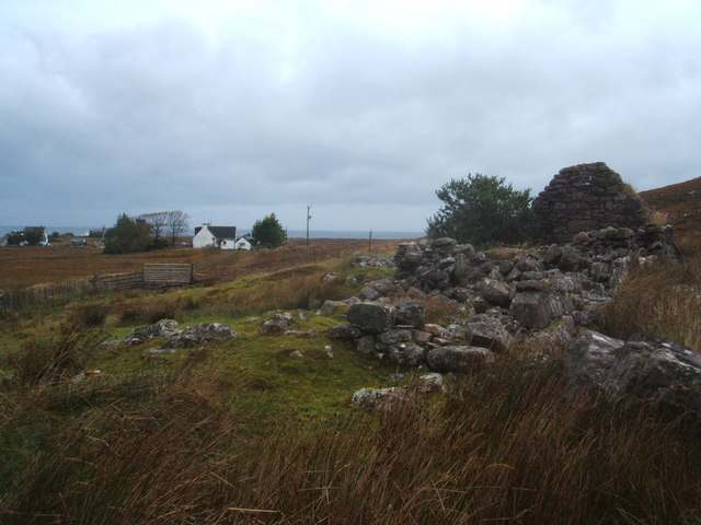 Ruined croft house, South Erradale