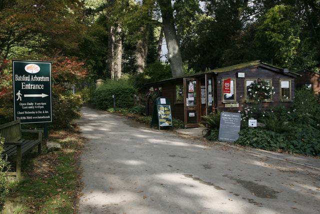 The Entrance to Batsford Arboretum