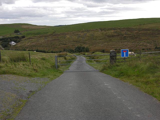 Lane to Rhyd y Porthmyn