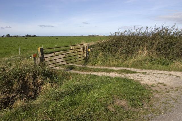 Farm track near Tarn Farm