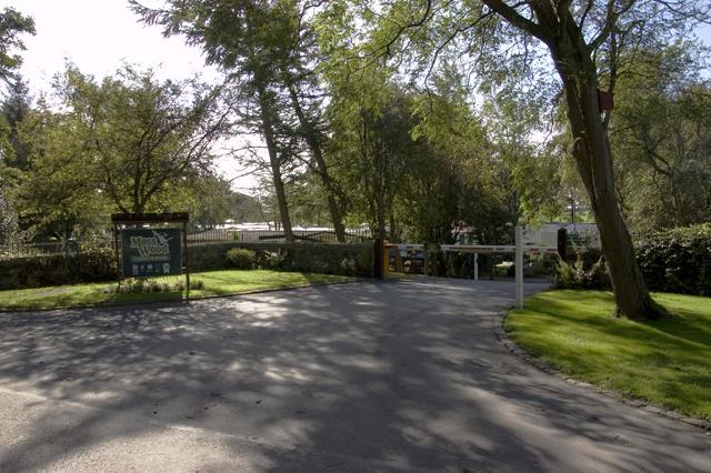 Entrance to Moss Wood Caravan Park