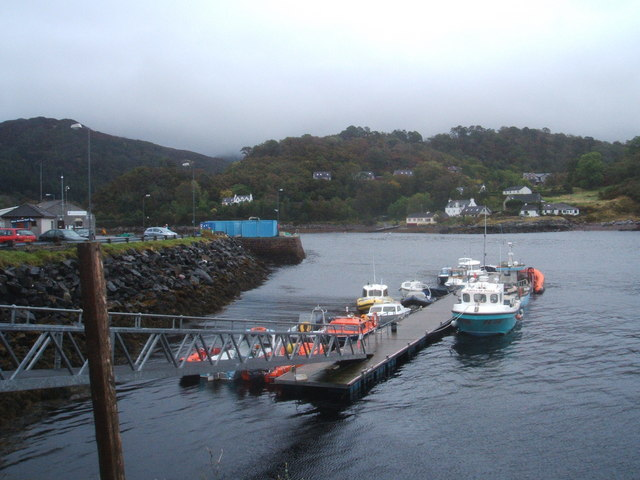 Small boats at Gairloch