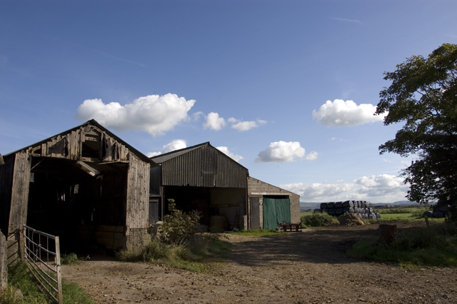 Farm buildings at Wrampool House