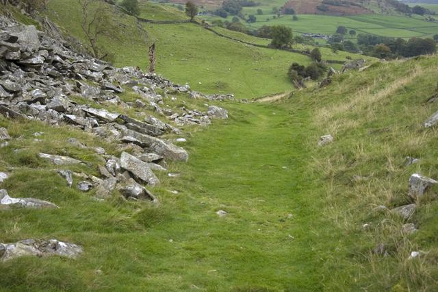 Path under Studrigg Scar