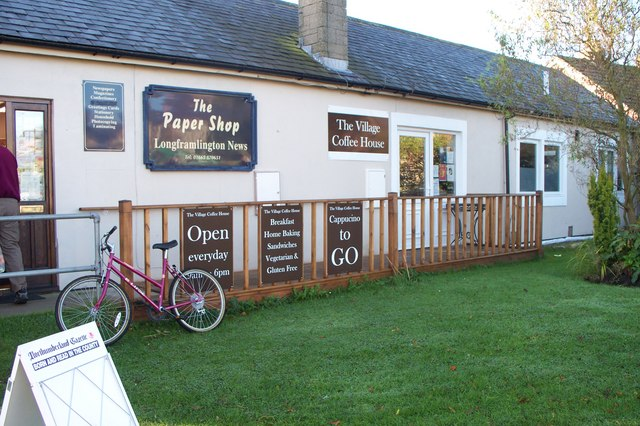 The Village Coffee Shop, Longframlington