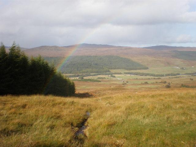 Rainbow over Glen Moriston