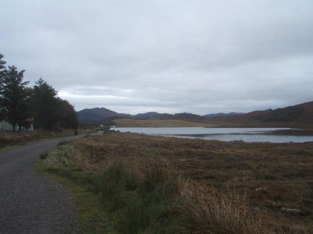 Loch bad na h-Aclaise, near Port Henderson