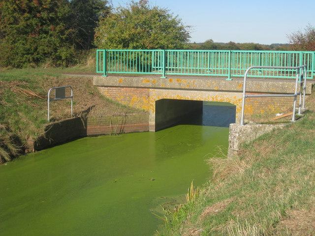 New Bridge over Crandlebridge Lane