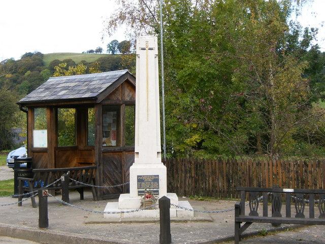 Llangunllo War Memorial