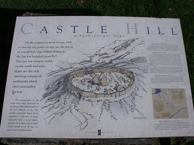 Castle Hill Iron Age Fort