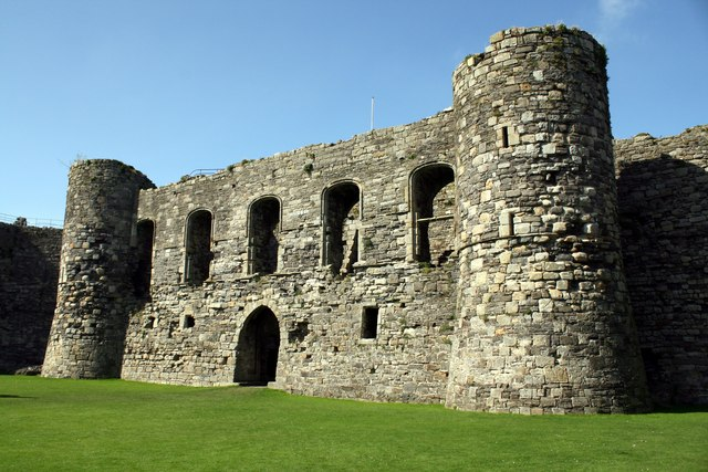 The North Gatehouse of Beaumaris Castle