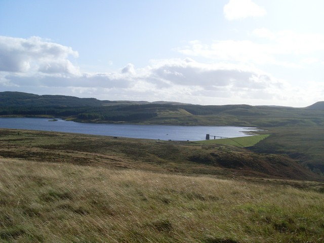 Burncrooks Reservoir from the north