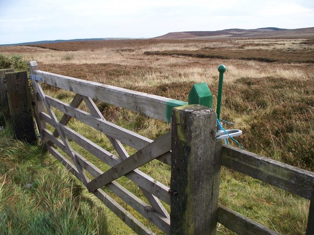 A gate onto the Moor