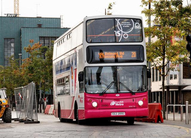 Dundonald bus, Belfast