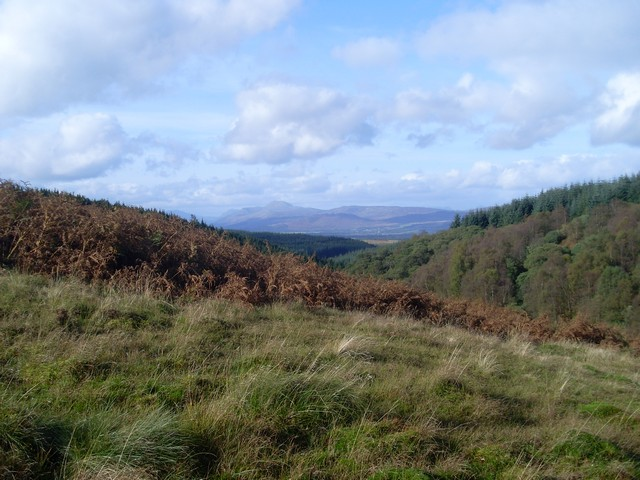 Looking to Ben Lomond from Oxen Knowes