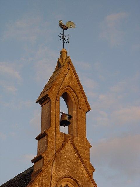 Weathercock at St Saviours Tetbury
