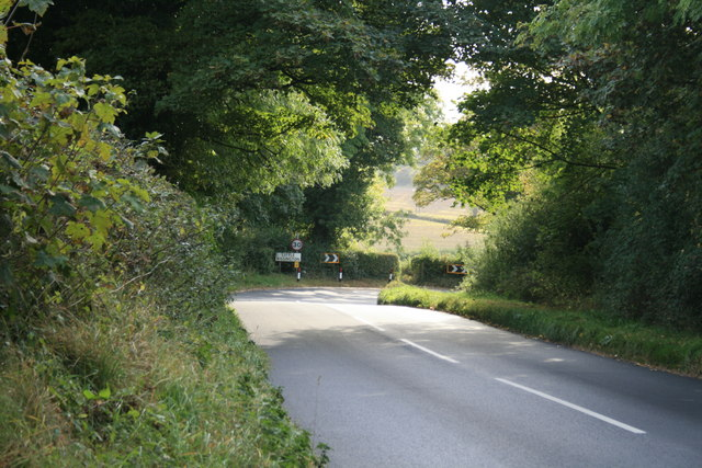 Descent into Little Rissington