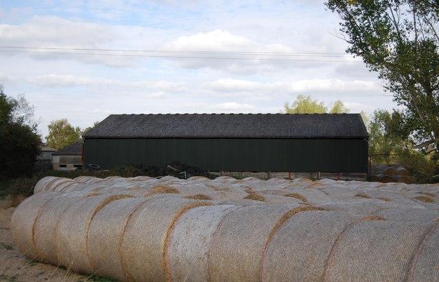 Hay Bales, Ensfield Farm, Ensfield Rd