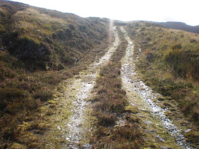 Track going up Coire an Eòin