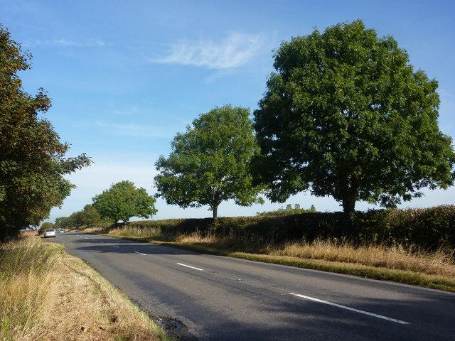 B1398 near Hemswell Cliff