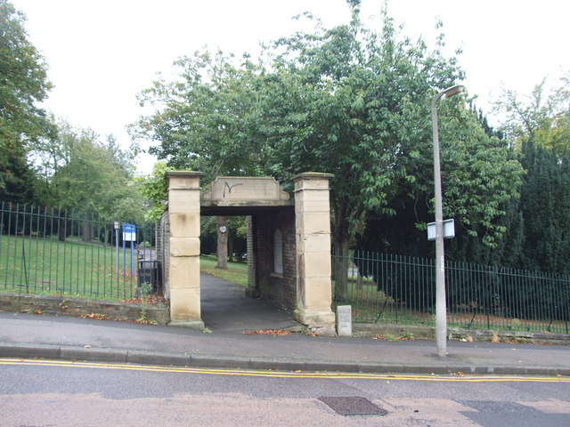 Entrance to the graveyard in Chatham