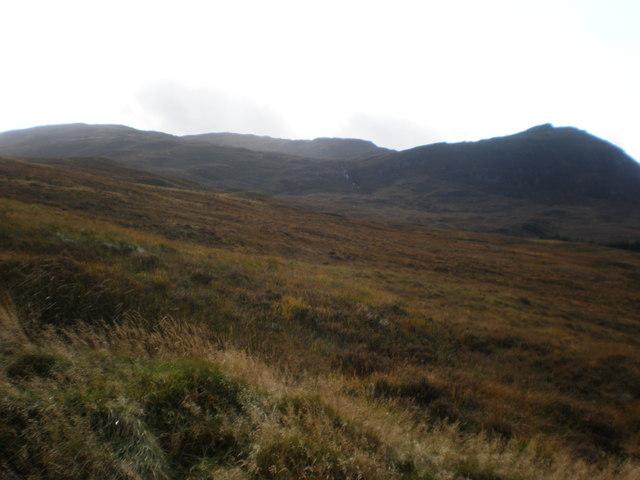Coire an Eòin east of Beinn an Eòin
