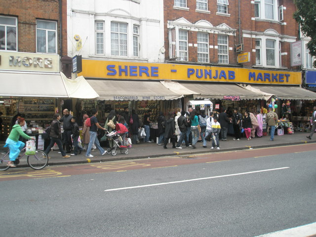 Shere- Punjab Market in The Broadway