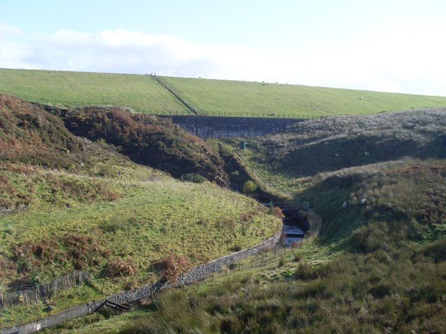 Outflow of Burncrooks Reservoir