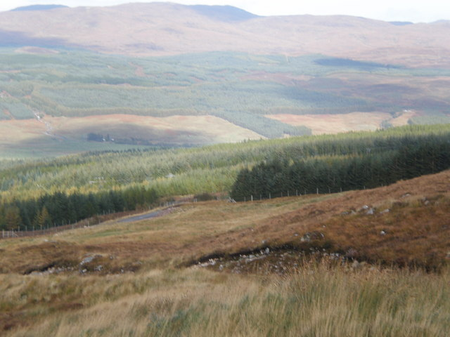 Looking south from Coire an Eòin track
