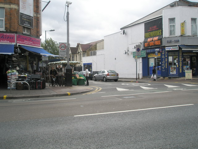 Junction of The Broadway and Oswald Road
