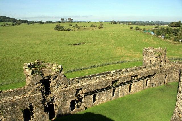 Beaumaris Castle Curtain Wall