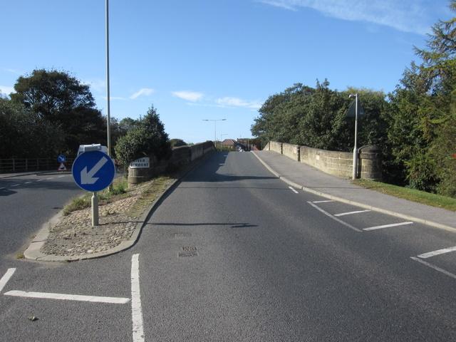 Ayton bridge from East Ayton