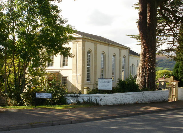 Pontrhydyrun Baptist Church
