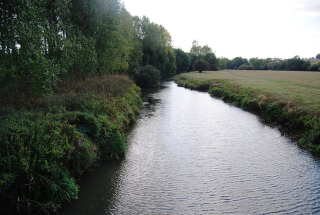 River Medway upstream from Ensfield Bridge