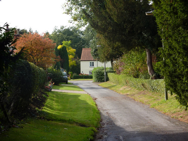 Church Lane, Saxby All Saints