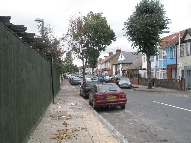Autumn in Lancaster Road