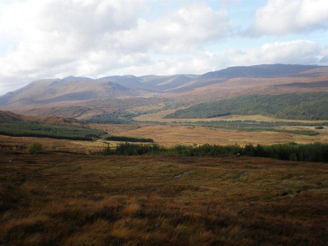 Moorland on Coire an Eòin