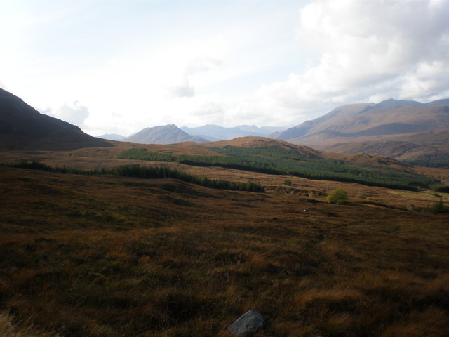 Looking west across Coire an Eòin