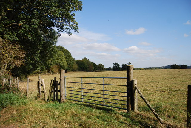 Gate by National Cycleway 12